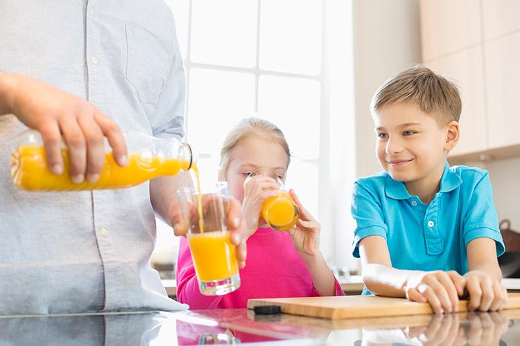 Bebidas para niños
