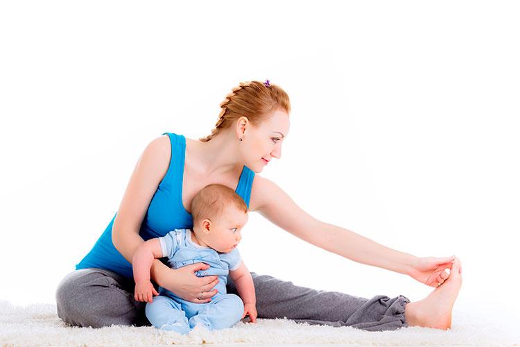 ejercicios después del embarazo