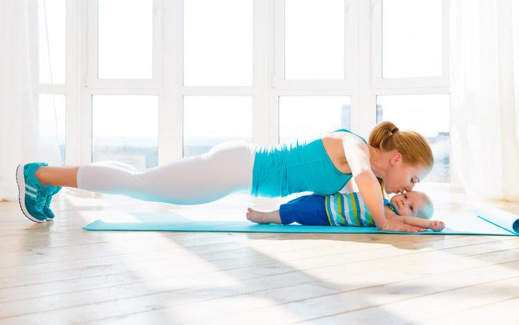Deporte después el parto